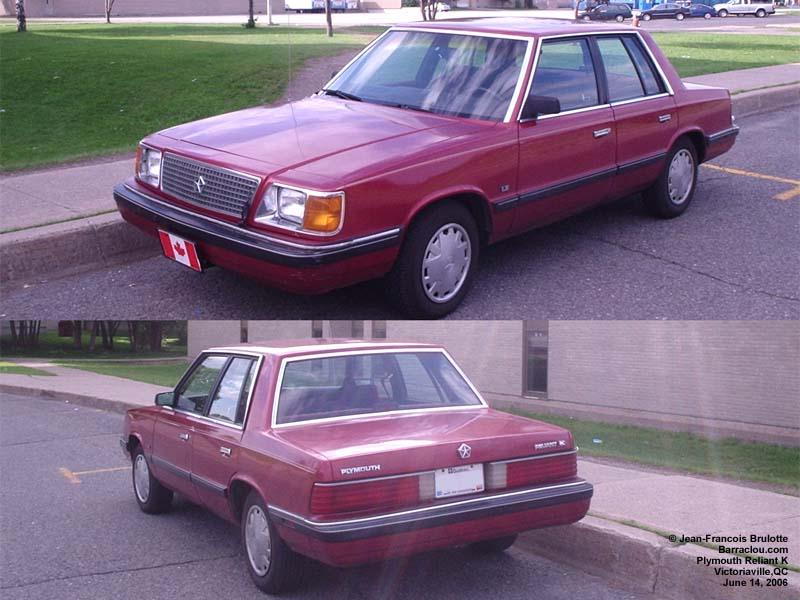 Dodge Aries, Springfield, PA | White vinyl landau roof! No ... |Plymouth Reliant White